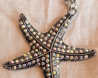 Starfish Pendant Necklace---SALE 20% off