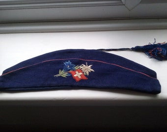 Vintage, Swiss felt cap