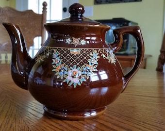 Vintage Redwear Brown Teapot (made in Japan)