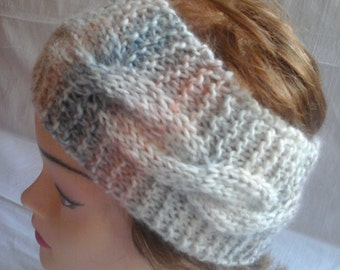 Headband earmuff woman