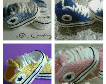 crochet slippers girl toddler