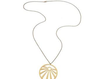 Sunshine Rope Necklace