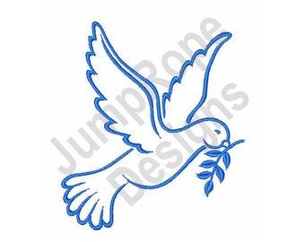 Spirit Dove - Machine Embroidery Design