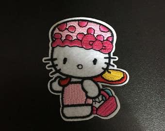 Hello Kitty, Hello Kitty Iron on Patches, 5.5x7cm size