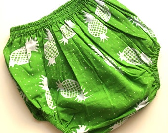 BLOOMERS baby Batik/Baby Batik bloomers/Baby Girl Bloomers/Baby boy Bloomers/Newborn Bloomers/Pineapple patterm/Baby Bloomers / Baby pants