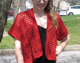 Summer / Spring Crochet Shrug Cardigan