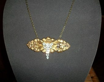Necklace from Vintage Hardware and Jewelry