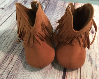 Baby Shoes, Baby Moccasins, newborn shoes, baby  boots