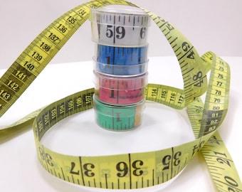 Flexible Tape Measure Always Flat No Curl Metric Tape Measure Travel Lightweight Fiberglass Dressmakers Tape Measure With Case