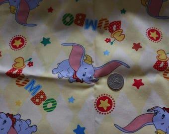 21 Yellow Dumbo Fabric Colorful 21