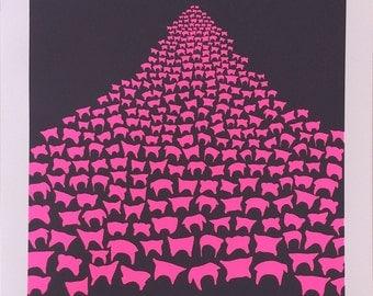 The Women's March  an original limited edition screenprint