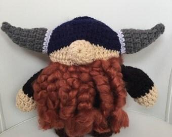 Dwarf/Viking Stuffed Toy