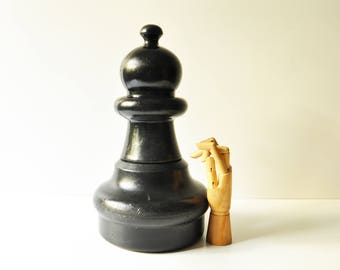 Vintage Oversized Chess Pawn - Rolly Toys West Germany