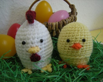 Egg Cosy Chicken&Chick Set