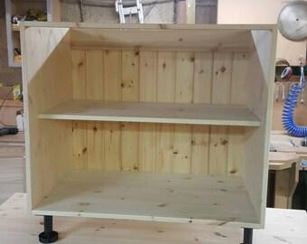 Bespoke Solid pine kitchen cabinet