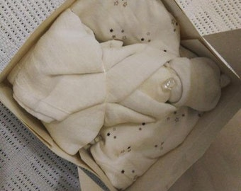 White  Baby In A Box Gift