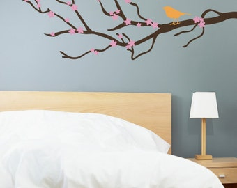 Spring Blossom Branch Wall Decal