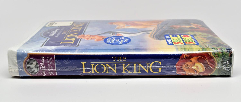 a walt disney masterpiece the lion king vhs