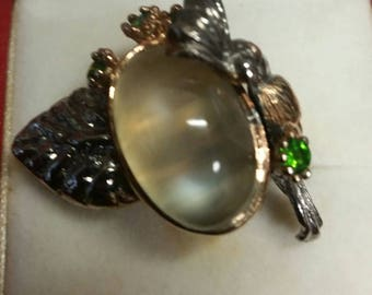 Beautiful Moonstone ring size 8 (Reduced Price)