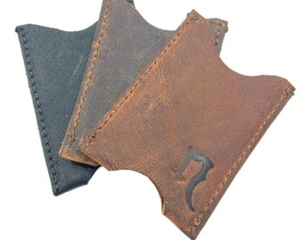 Leather Card Sleeve  FREE US Shipping!
