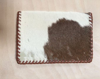 Genuine Cow Hide Leather Wallet