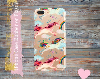 iPhone 7 Plus case Unicorn,  iPhone 7 case, iPhone 6 / 6s / 6s Plus Case, iPhone 5s / 5 / SE Case,  iPhone case Plastic /rubber.