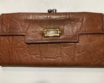 Vintage Princess Gardner Leather Wallet