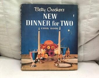 Betty Crocker's New Dinner for Two Cookbook 1964