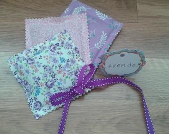 Set of 3 Lavender Sachets