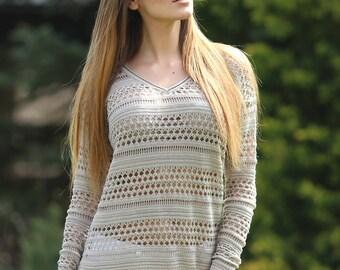 Summer sweater knits Madeleine