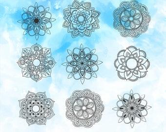 Mandala SVG Decal | Boho Mandala Svg | Mandala Dxf | Mandala File | Tribal Mandala Svg | Mandala Eps | Mandala Vector | Ethnic Mandala Svg