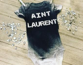 Aint laurent baby onesie designer baby onesie / tank