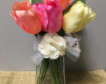 Spring Tulip Flower Decor