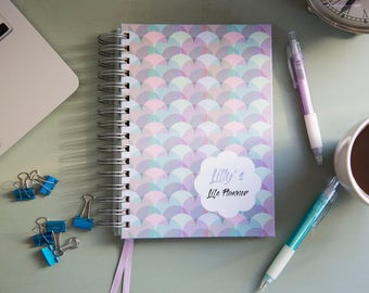 A4/A5 Personalised Life Planner Diary - Percular Design