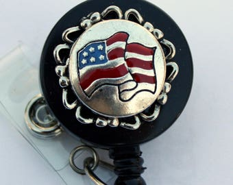 flag badge reels badge reel badge holders