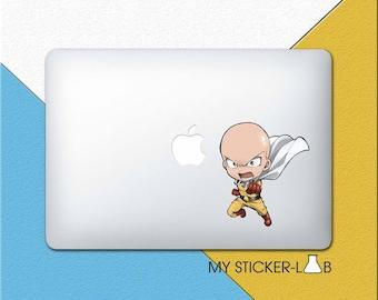 Saitama One Punch Man MacBook Decal One Punch Man MacBook Sticker One Punch Man Sticker One Punch Man Decal Anime Saitama Laptop bn351N