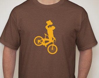 Wyoming Cowboy Mountain Bike Shirt - Men's shirt