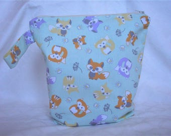 Nappy bag-zippered Pouch for diapers – handbag for nappy change – Fancies male, female, or unisex