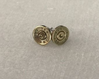 Handmade .223 bullet earrings