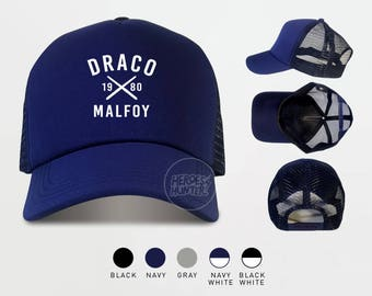 Draco Malfoy Trucker Hat Harry Potter Caps