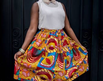 summer bold skirt