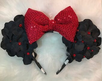 Classic Minnie Mouse Flower Ears