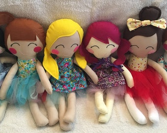 Handmade doll custom made to order ce marked 'the original doll'