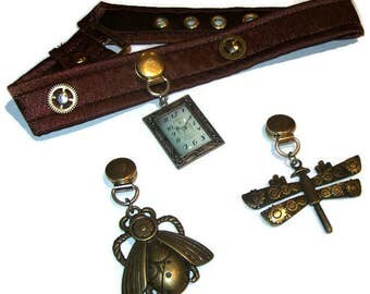 Interchangerble Detail Steampunk collar standard length