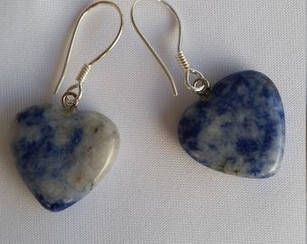 Sodalite earrings - S09019