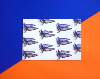 Carrot Postcard (1)