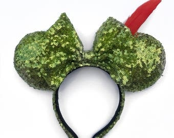 Peter Pan ears , Peter Pan , mouse ears , minnie ears , mickey ears