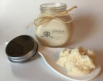 Cedarwood whipped body butter - natural, organic ingredients - thick, creamy body lotion - free shipping