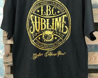 Sublime LBC band tee