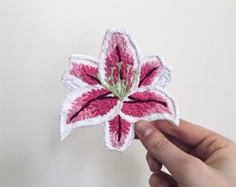 Pink Lily Patch